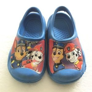 4/25$ 🦋 Paw patrol foam shoes for toddler